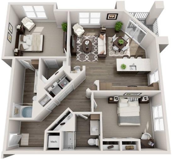 Woodfield Weston Corners Floorplans